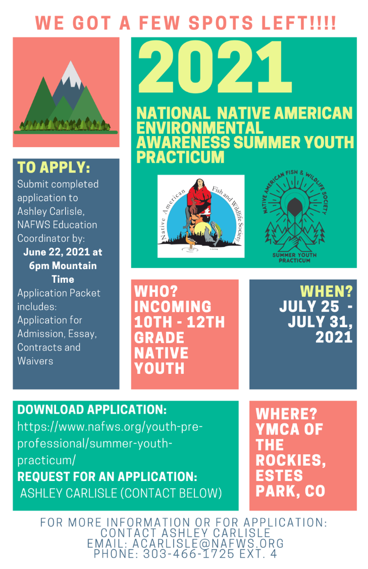 2021 NAFWS Youth Practicum