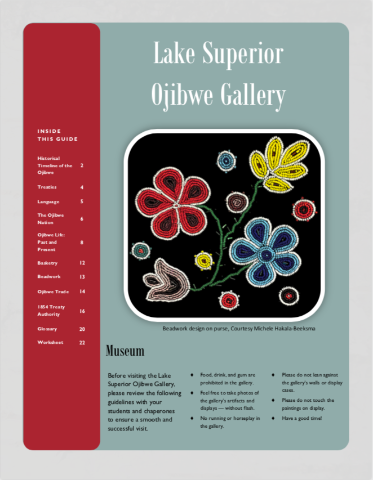 Lake Superior Ojibwe Gallery Learning Guide