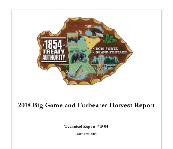 2018 Big Game and Furbearer Report