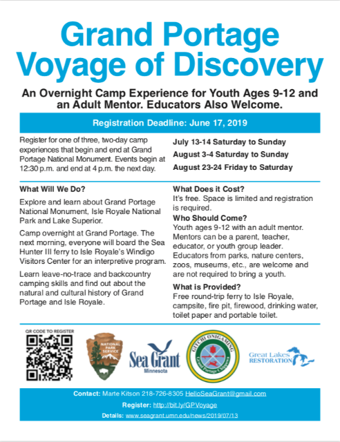 Voyage Of Discovery! - 1854 Treaty Authority News