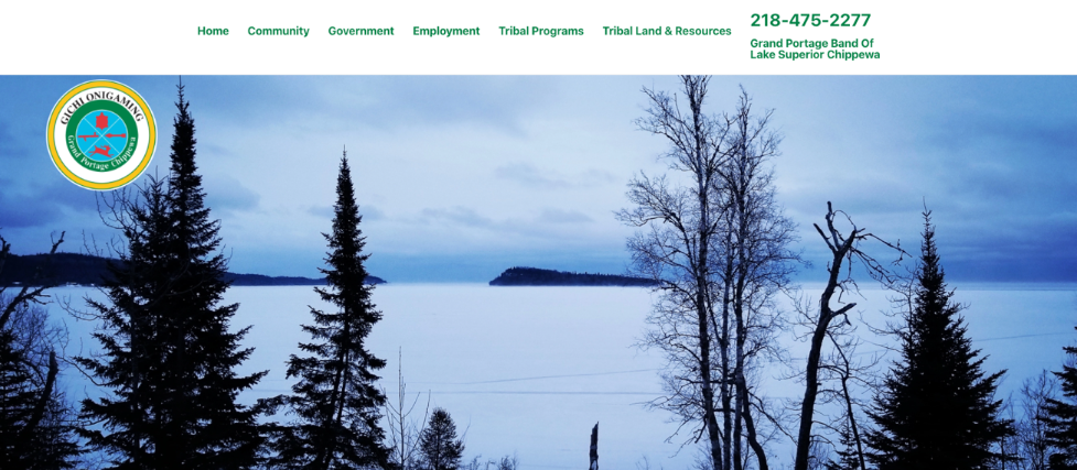 Grand Portage Band Website