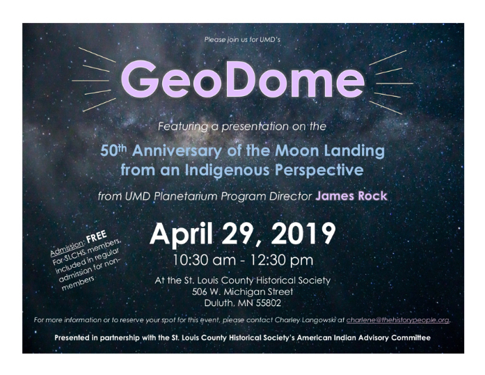 SLCHS host Indigenous GEODOME event