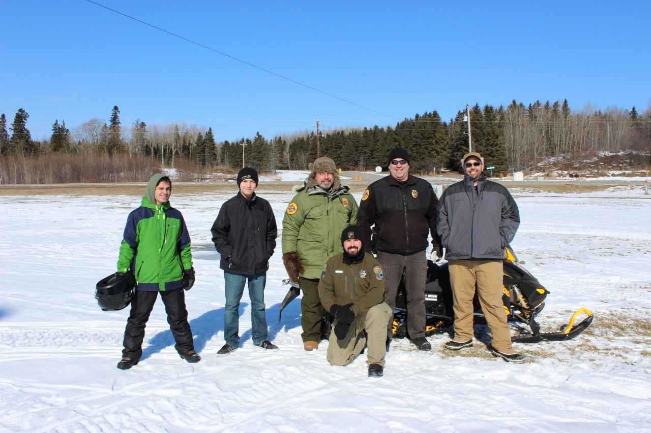 Snowmobile Safety: 3 New Certified Riders