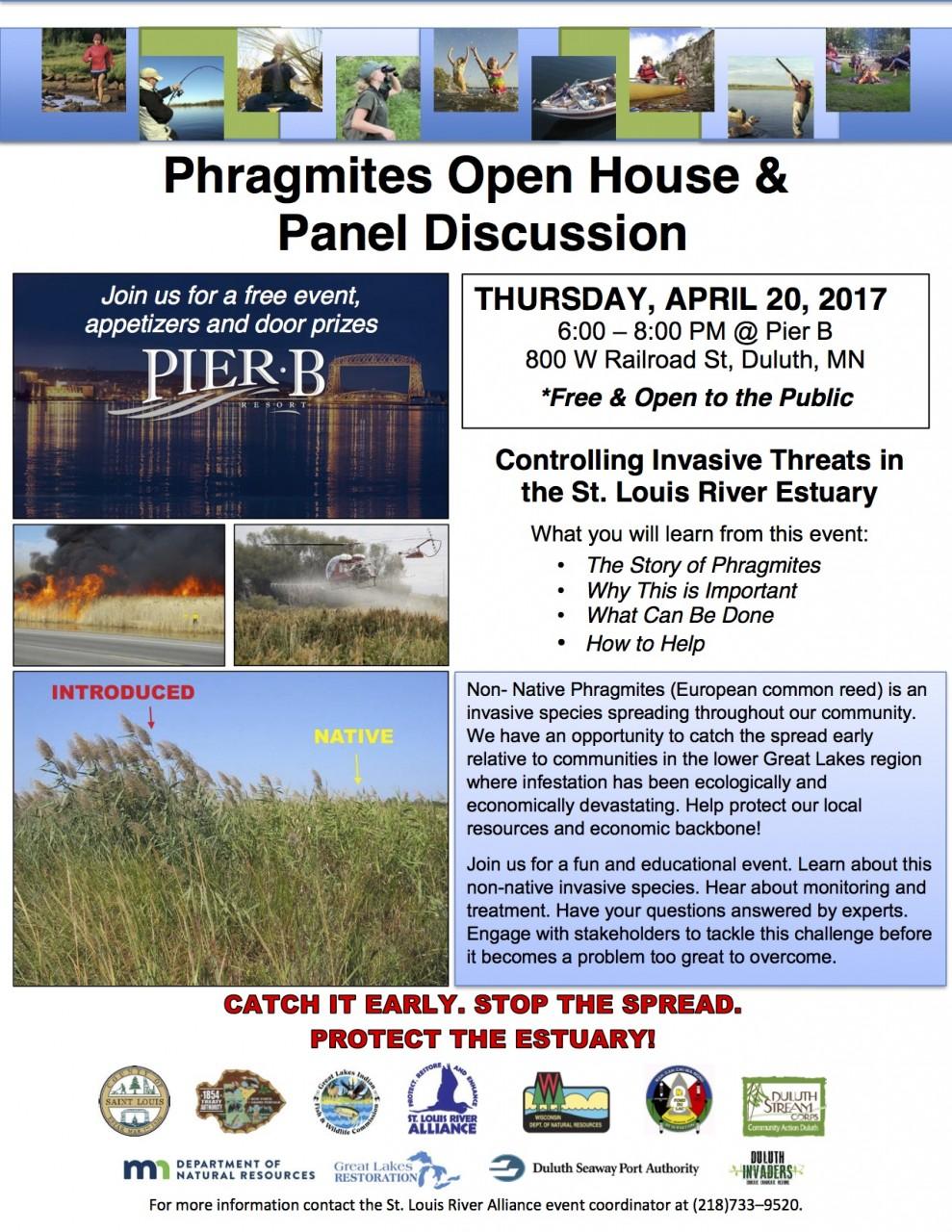 Phragmites Open House