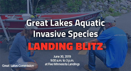 Aquatic Invasive Species Landing Blitz June 30th
