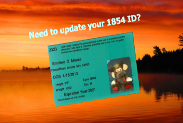 Need to Update Your 1854 ID?
